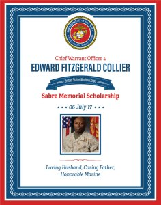 Ed Collier Scholarship Pic MySabre2