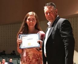 Rebekah Torgesen STEM Award Pic