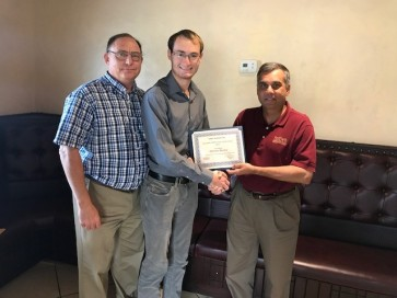 STEM - Nicholas Reciving Award